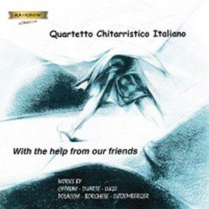 Quartetto Chitarristico Italiano - With the help of Our friends - Music by Catalini, Duarte, Lugli, Polacchi, borghese, Lutzemberger