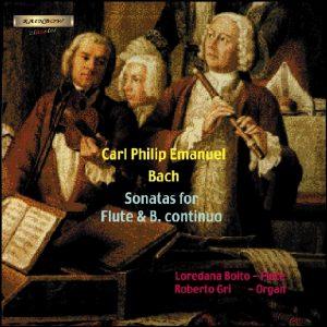 Carl Philip Emanuel Bach - Flute Traversiere & Continuo Sonatas / Boito - Gri