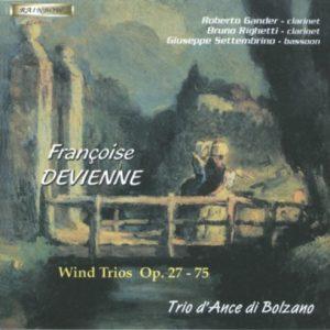 Francois Devienne -2 CD - Trios op. 27 / op. 75 / Trio d'Ance di Bolzano