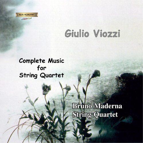 Quartetto per archi N°1 - Erinnerung (in memoriam Franz König) - Quartetto per archi N°2 - Canti popolari fFriulani / Bruno Maderna String Quartet.