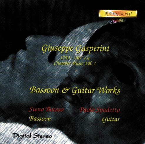 Giuseppe Gasperini - Bassoon & Guitar Music I° / S. Boesso Bassoon - P. Spadetto Guitar