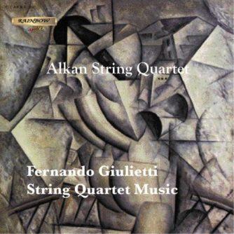 Fernando F. Giulietti - String Quartet Music / Alkan String Quartet