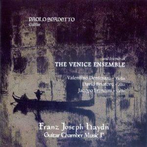F. J. Haydn - Guitar Chamber Music vol. I° / The Venice Ens.- P. Spadetto