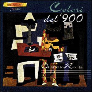Quartetto Recital - Colori del '900 / Original Works for Clarinets Quartet