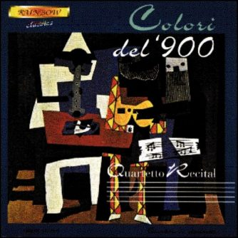 Quartetto Recital - Colori del '900 / Original Works for Clarinets Quartet