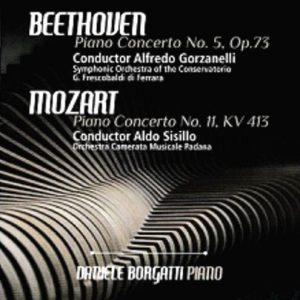 Beethoven n. 5 op.73 - Mozart n. 11 KV 413 / Piano Concertos - D. Borgatti piano