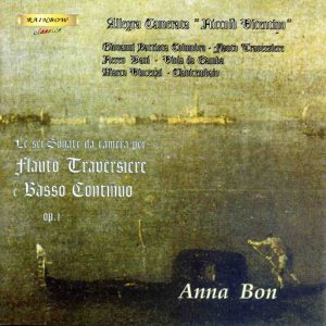 Anna Bon - Sonate op, 1 for Flute Traversiere and continuo / Camerata Nicolò Vicentino