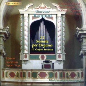 Giacomo Rampini - 12 Sonate per Organo / Alberto Guerzoni organo