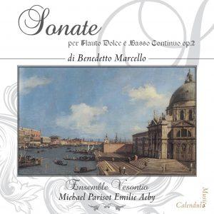 Benedetto Marcello - Complete 12 Sonates op. 2 / Vesontio Ens. - E. Aeby