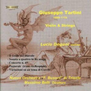 Giuseppe Tartini - Ensemble F. Busoni / Lucio Degani violin