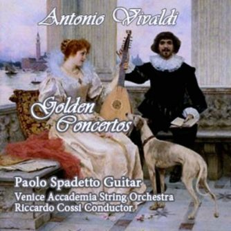 Antonio Vivaldi Golden Concertos / Venice Accademia String Orchestra - R. Cossi