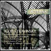 Igor Stravinsky - Simphony of Psalms - Piano Concerto - Suites n. 1 & 2 / Abbado, Pollini, Scherchen